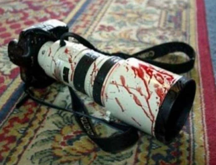 Σοκ! Επιτέθηκαν σε δημοσιογράφους στην Τουρκία