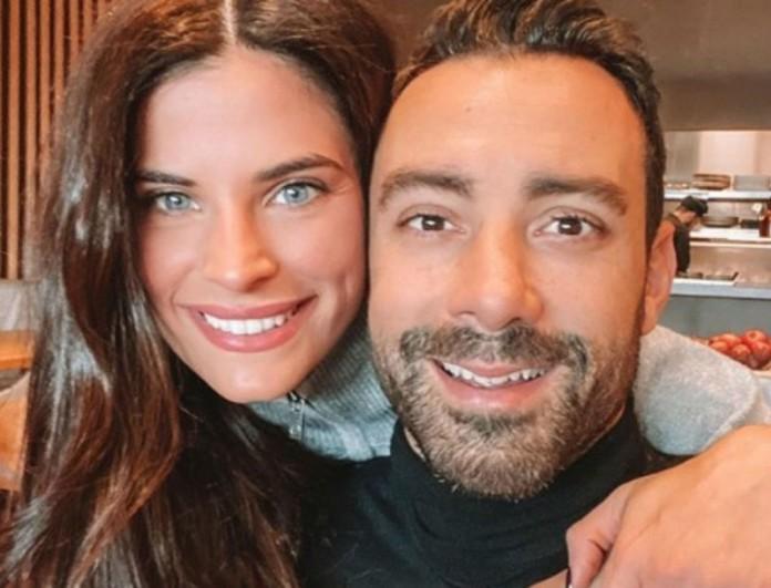 Στη λαϊκή χωρίς μάσκες Χριστίνα Μπόμπα και Σάκης Τανιμανίδης - Τι ανέφεραν για την έξοδό τους;