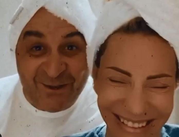 Έκλαψε στα γέλια η Έλενα Τσαβαλιά - Δείτε το βίντεο με τον Μάρκο Σεφερλή