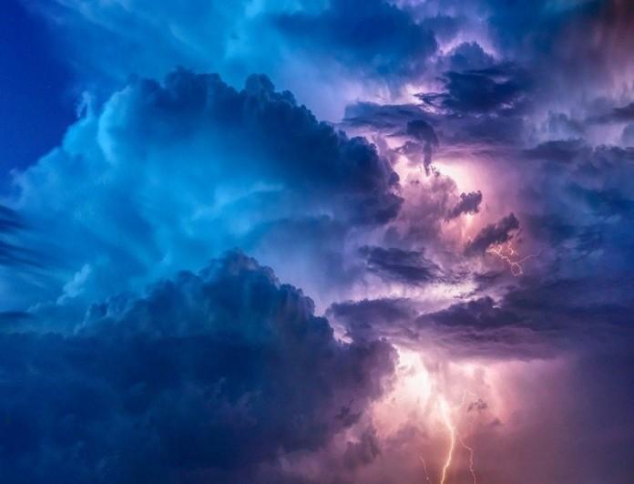 Καιρός (14/2): Έρχονται καταιγίδες και... χιόνια - Που θα
