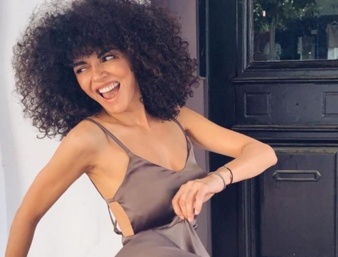 Η Μαρία Σολωμού έβαλε τις πιτζάμες της και έριξε το Instagram με το χαμόγελό της