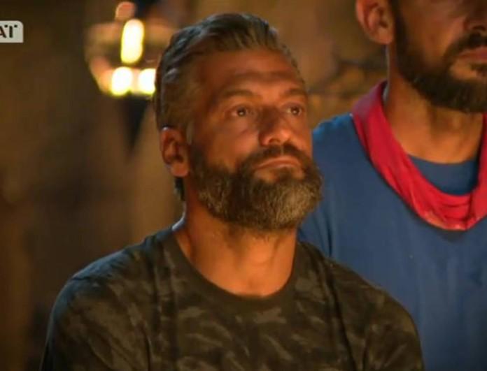 Δύσκολες ώρες για τον Στέλιο Κρητικό από το Survivor