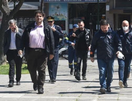 Έφτασαν στη Λάρισα Τσιόδρας και Χαρδαλιάς - Τι ανέφεραν για την κατάσταση;