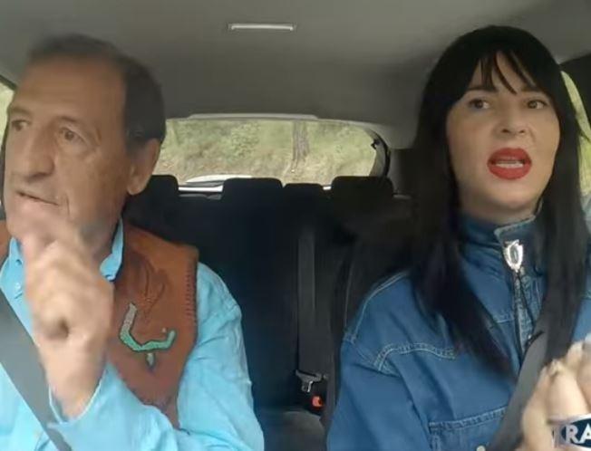 Ζενεβιέβ Μαζαρί: Μπήκε πίσω από το τιμόνι και τρέλανε τον Στεφανή -