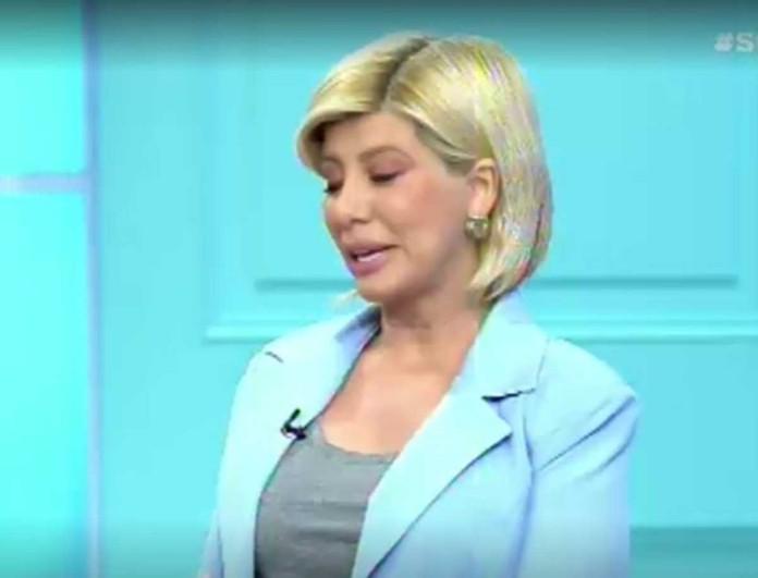 Βούρκωσε on air η Ζήνα Κουτσελίνη - «Θα σας κοιτάξω στα μάτια και...»