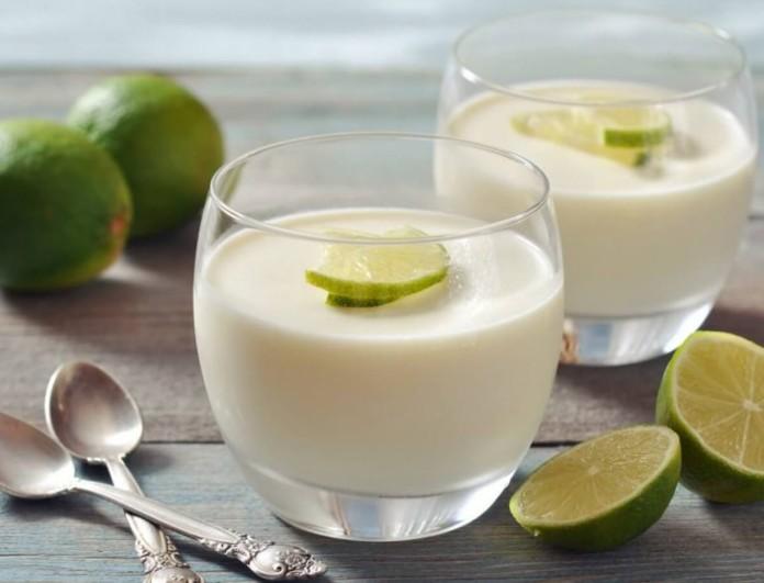 Το πιο εύκολο γλυκό ψυγείου με λεμόνι - Έτοιμο σε 2 λεπτά
