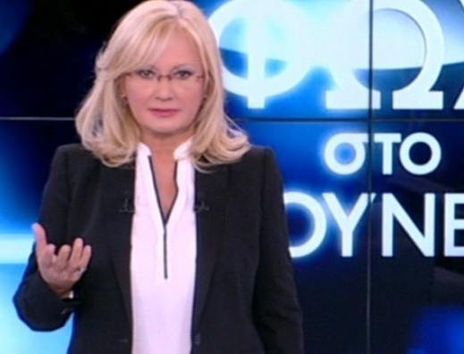 Αγγελική Νικολούλη: Γυναίκα οδοστρωτήρας στον ALPHA TV