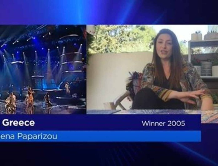 Eurovision 2020: Συγκινεί με τα λόγια της η Έλενα Παπαρίζου
