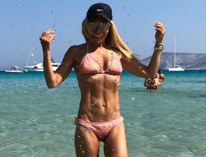Έλενα Τσαβαλιά: Φουλ ακομπλεξάριστη! Εμφανίστηκε χωρίς μακιγιάζ και μείνανε όλοι
