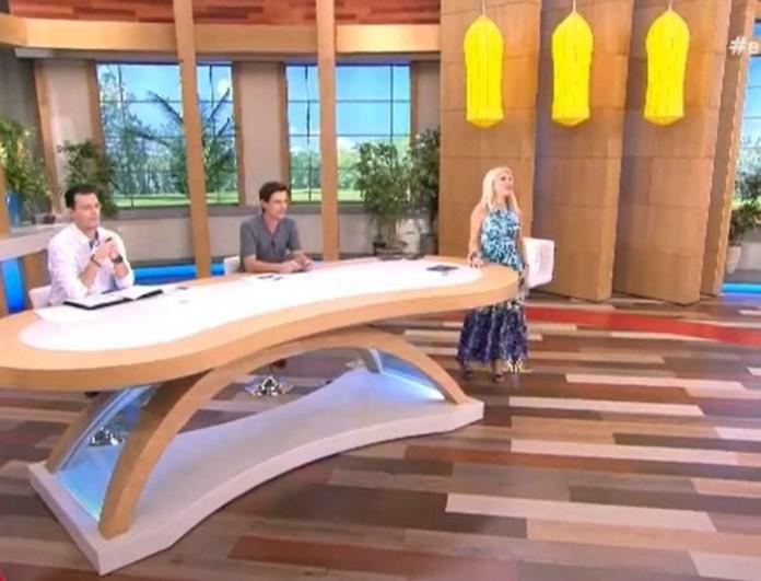 Απίστευτο σκηνικό στον ALPHA - Δείτε ποιος κάθισε στην καρέκλα της Ελένης