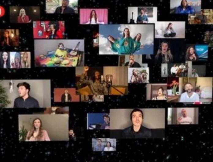 Eurovision 2020: Οι νικητές και οι φετινοί διαγωνιζόμενοι σε ένα συγκινητικό tribute για τον κορωνοϊό