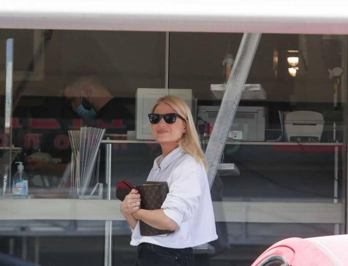 Φαίη Σκορδά: Σάστισαν όλοι με αυτό που φορούσε στο πλευρό του Νίκου Ηλιόπουλου