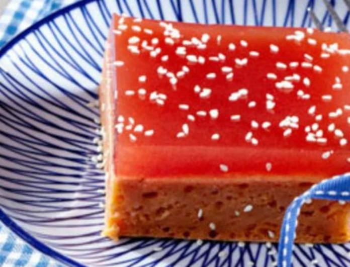 Απολαυστικό και δροσερό γλυκό ψυγείου με καρπούζι