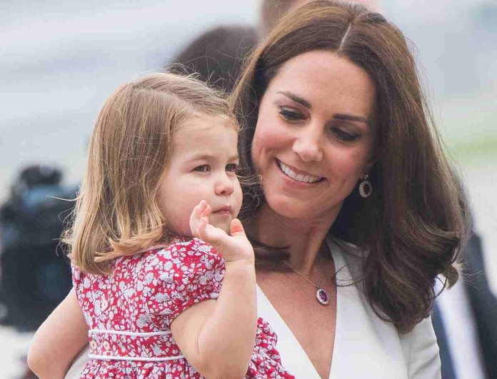 Η απρεπής κίνηση της κόρης της Kate Middleton που άφησε άφωνο το Buckingham