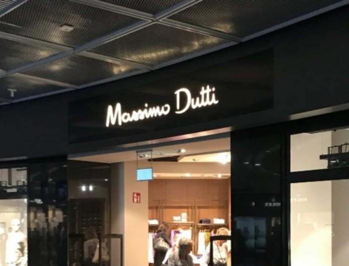 Χάος στα Massimo Dutti με την ολόσωμη φόρμα που έχει σταυρωτές τιράντες