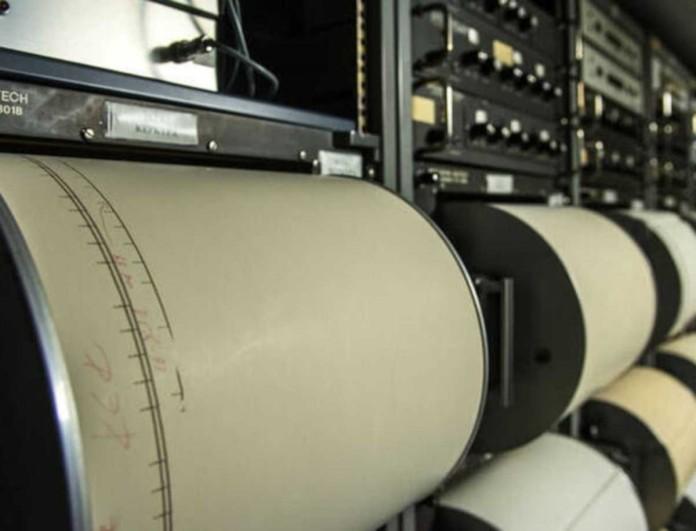 «Έσκασε» σεισμός 4,8 Ρίχτερ