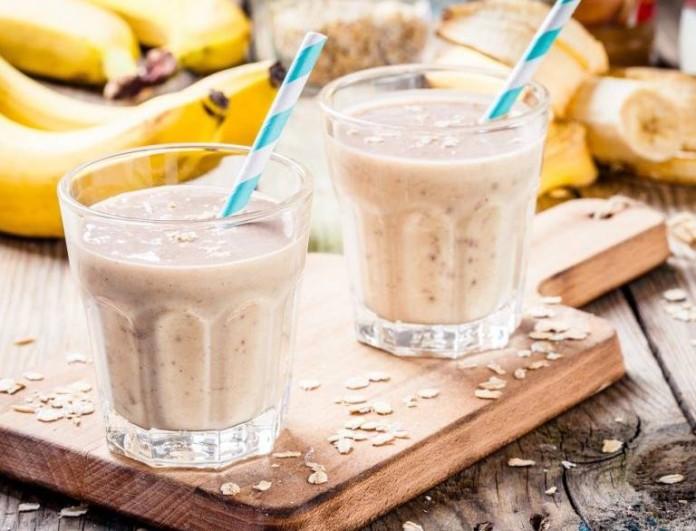 Θρεπτικό smoothie μπανάνας από την Αργυρώ Μπαρμπαρίγου - Βάλε κανέλα και θα το κάνεις όνειρο