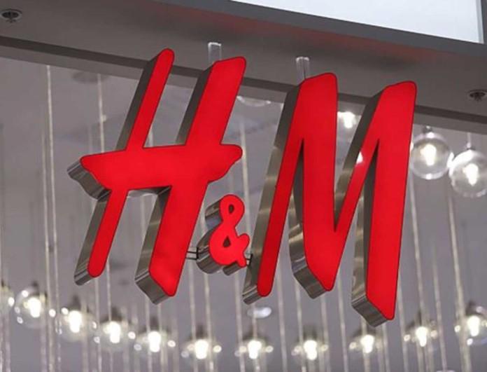 Έργο τέχνης το γαλάζιο φόρεμα από τα H&M