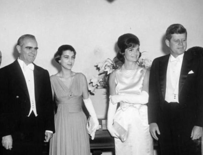 Αμαλία Μεγαπάνου: Η εμφάνισή της στον Λευκό Οίκο που «έσβησε» την Τζάκι Κένεντι