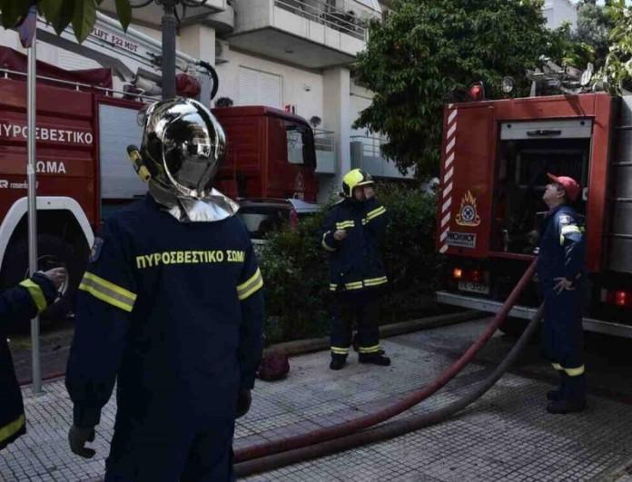 Φωτιά σε διαμέρισμα στην Κρήτη