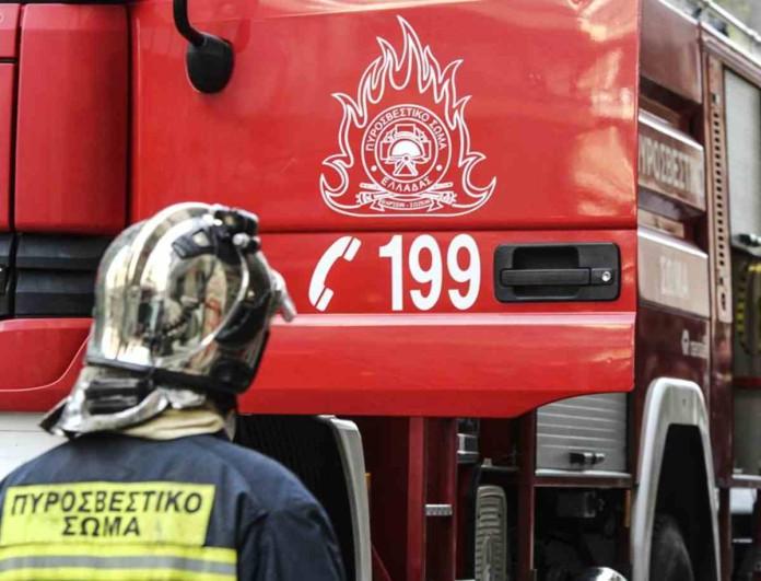 Φωτιά κοντά σε κοιμητήριο στη Θεσσαλονίκη