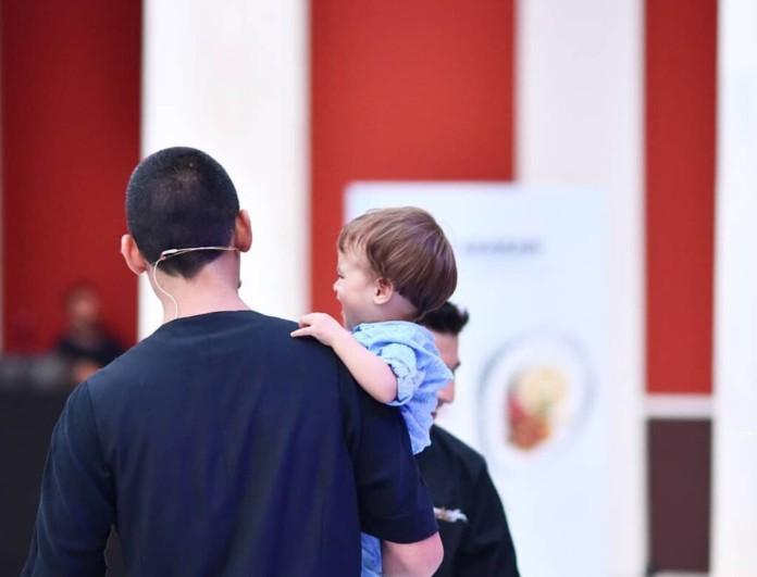 Σωτήρης Κοντιζάς: Ανέβασε την πιο τρυφερή φωτογραφία με τον γιο του