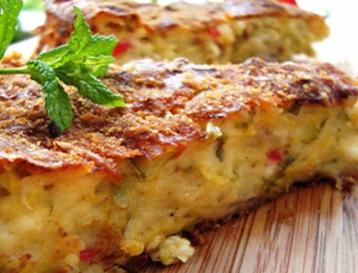 Τεμπέλικη κολοκυθόπιτα με κίτρινο τυρί - Έτοιμη μέσα σε λίγα λεπτά