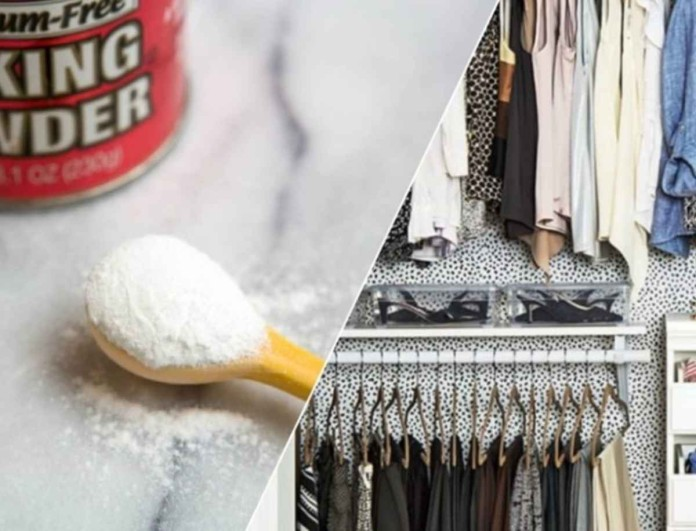 Εξαφανίστε τις άσχημες μυρωδιές της ντουλάπας σας από τη μούχλα με μαγειρική σόδα
