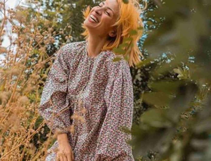 Μελαχρινή και αγνώριστη η Μαρία Ηλιάκη - Έτσι δεν την έχεις ξαναδεί