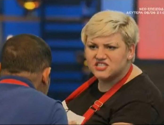 MasterChef: «Μη μιλάς» - Έξαλλη η Μάρλεν με τον Τζον