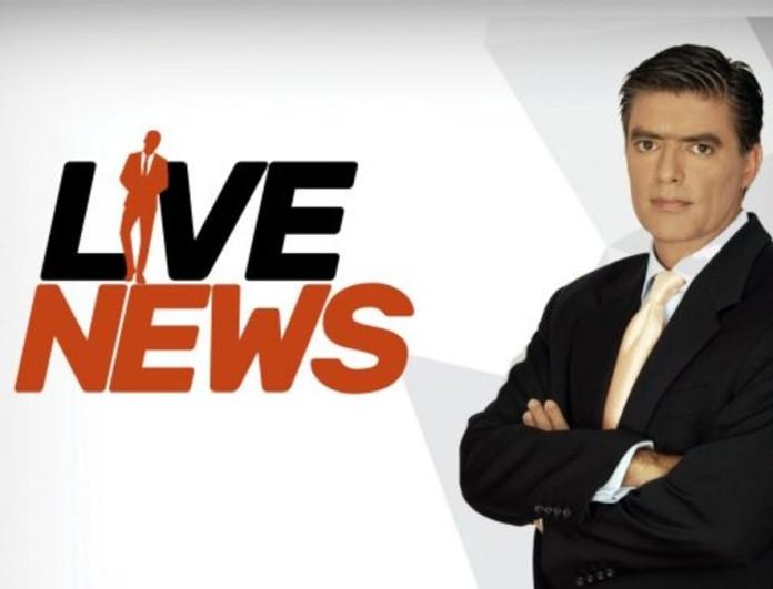 Νίκος Ευαγγελάτος: Δυσάρεστες εξελίξεις για το Live News στο Mega