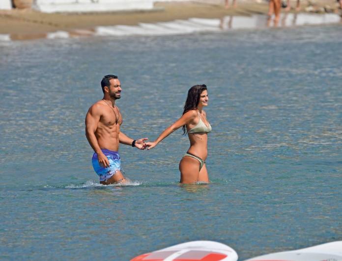 Σάκης Τανιμανίδης - Χριστίνα Μπόμπα: Ξεκίνησαν τις καλοκαιρινές τους διακοπές - Ποιος ο πρώτος προορισμός;