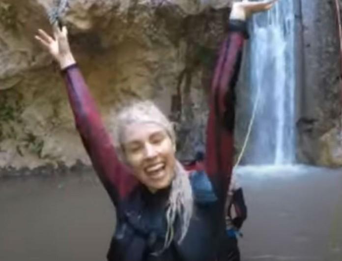 Τζούλια Νόβα: Αυτό είναι το βίντεο από τα extreme sports που άναψε... φωτιές
