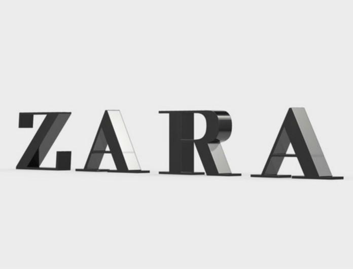Φόρεμα - έργο τέχνης με μόνο 5,99 ευρώ στα Zara - Έχει παντού πούλιες