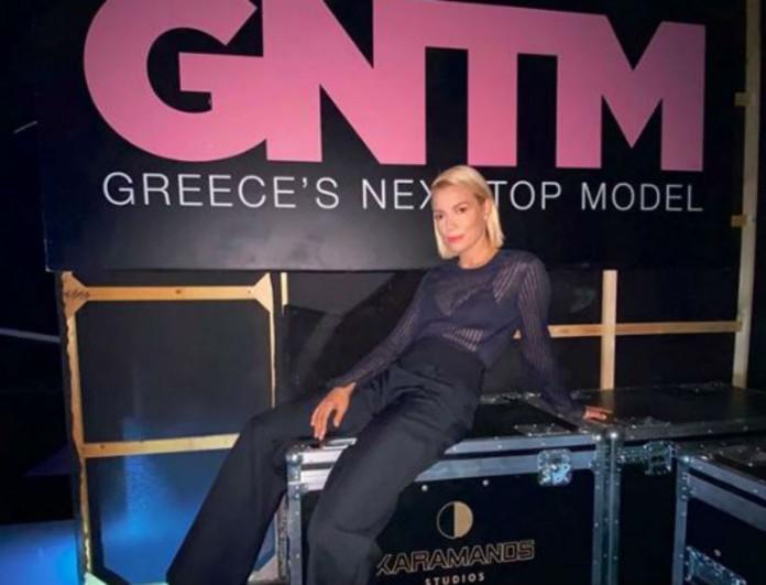 Η Βίκυ Καγιά σε φωτογραφία για το GNTM 3 με Migato παπούτσι - μόνο - 20 ευρώ!