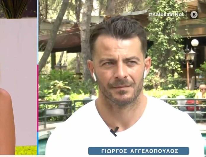 Γιώργος Αγγελόπουλος: Βγήκε στον αέρα του OPEN και έκανε την ανακοίνωση