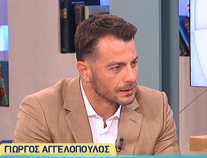 Ο Γιώργος Αγγελόπουλος συγκίνησε με την εξομολόγησή του - «Με προσέγγισε ένα κακοποιημένο παιδί»