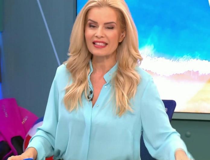 Βίκυ Χαντζή: Η on air γκάφα της παρουσιάστριας - Κοκκίνησε από την ντροπή της!