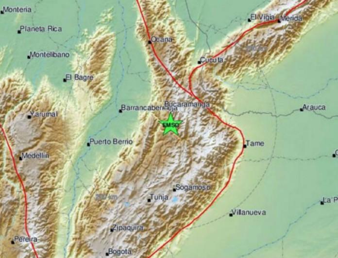 Σεισμός στην Κολομβία - Ταρακουνήθηκαν για τα καλά