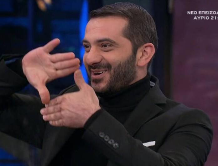 Το νέο τηλεοπτικό βήμα του Λεωνίδα Κουτσόπουλου μετά το MasterChef