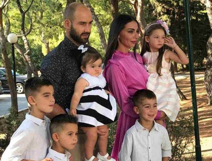 Αχώριστη η οικογένεια Σπανούλη - Η Ολυμπία Χοψονίδου τράβηξε μοναδικό στιγμιότυπο