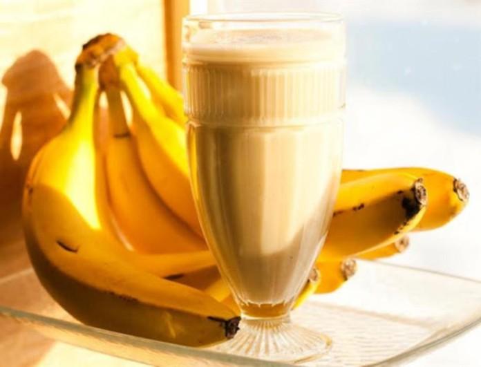 Σπιτικό ρόφημα με μπανάνα και μελί για αύξηση βάρους - Πιείτε ένα ποτήρι την ημέρα για σίγουρο αποτέλεσμα