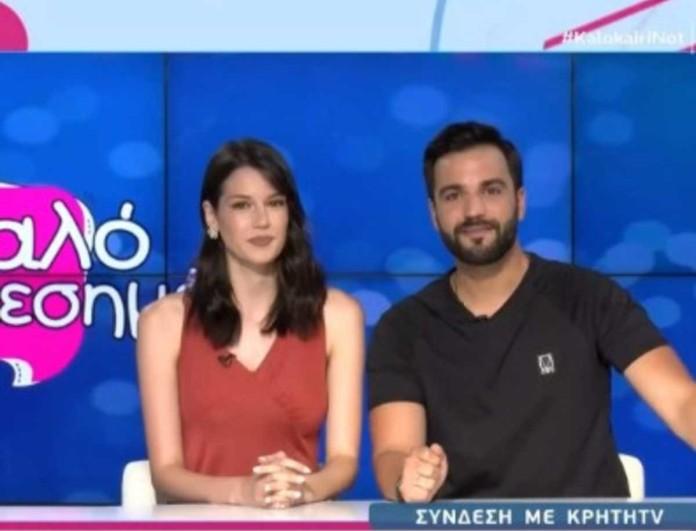Χριστιάνα Σκούρα - Λευτέρης Κουμαντάκης: Τα πρώτα λόγια τους για το Κρήτη TV και την Ιωάννα Μαλέσκου