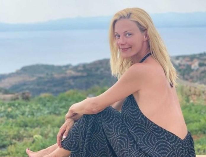 Ζέτα Μακρυπούλια: Στη δημοσιότητα η φωτογραφία από το παρελθόν της