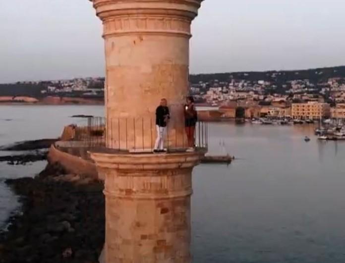 Εικόνες: Ο Τάσος Δούσης μας ταξιδεύει στην πανέμορφη Κρήτη - Μην χάσετε το 1ο μέρος