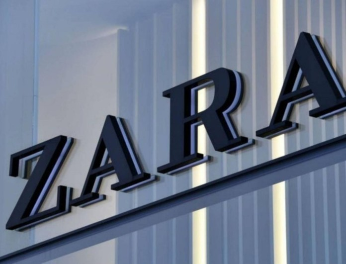 Είναι έρωτας το φόρεμα των Zara με την halter λαιμόκοψη