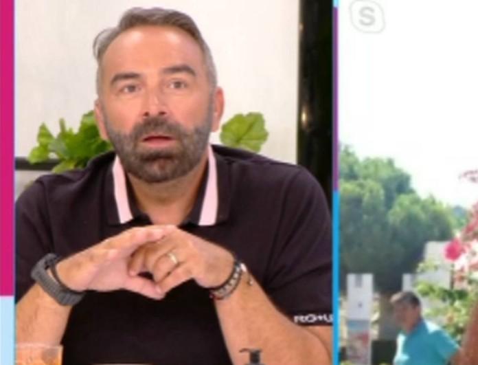 Ενοχλημένος ο Γρηγόρης Γκουντάρας με τον Δημήτρη Μπέλλο -