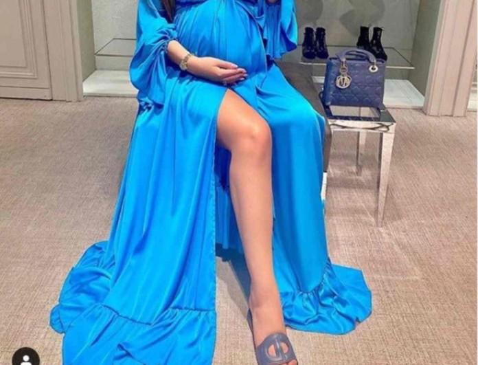 Ελληνίδα μοντέλο γεννάει σε δυο ημέρες και ποζάρει με την φουσκωμένη της κοιλίτσα