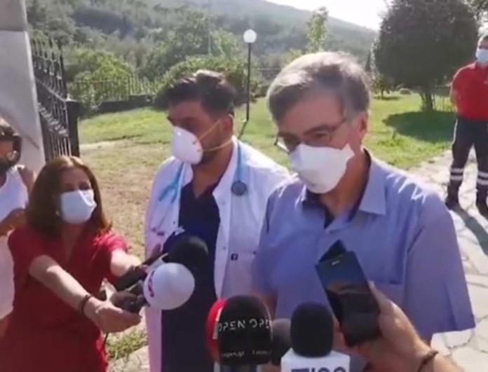 Ανακοίνωση από τον Σωτήρη Τσιόδρα για τα 35 κρούσματα στον οίκο ευγηρίας