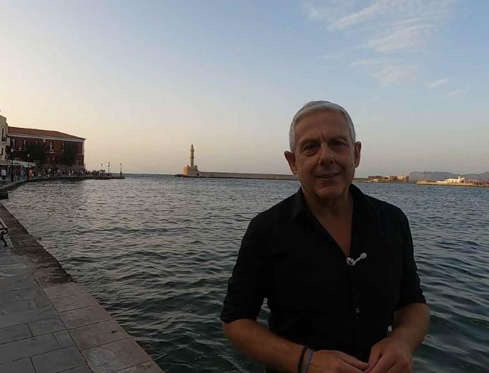 Ο Τάσος Δούσης και οι Εικόνες συνεχίζουν το ταξίδι τους στα Χανιά - Απόψε στο Opentv